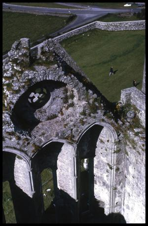 [Church Ruins from Above}
