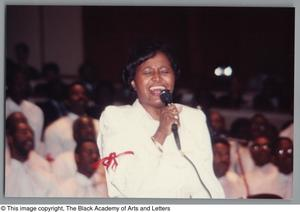 Primary view of object titled '[Black Music and the Civil Rights Movement Concert Photograph UNTA_AR0797-144-30-20]'.