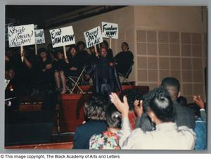Primary view of object titled '[Black Music and the Civil Rights Movement Concert Photograph UNTA_AR0797-144-35-02]'.