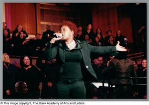 Primary view of object titled '[Black Music and the Civil Rights Movement Concert Photograph UNTA_AR0797-137-03-15]'.