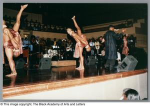 Primary view of object titled '[Black Music and the Civil Rights Movement Concert Photograph UNTA_AR0797-144-36-25]'.