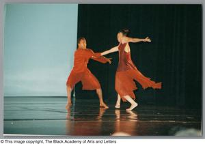 Primary view of object titled '[Weekend Festival of Black Dance Photograph UNTA_AR0797-139-14-23]'.
