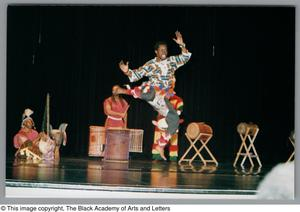 Primary view of object titled '[Weekend Festival of Black Dance Photograph UNTA_AR0797-139-14-31]'.