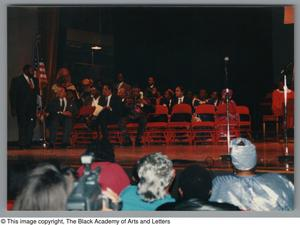 Primary view of object titled '[Black Music and the Civil Rights Movement Concert Photograph UNTA_AR0797-144-35-13]'.