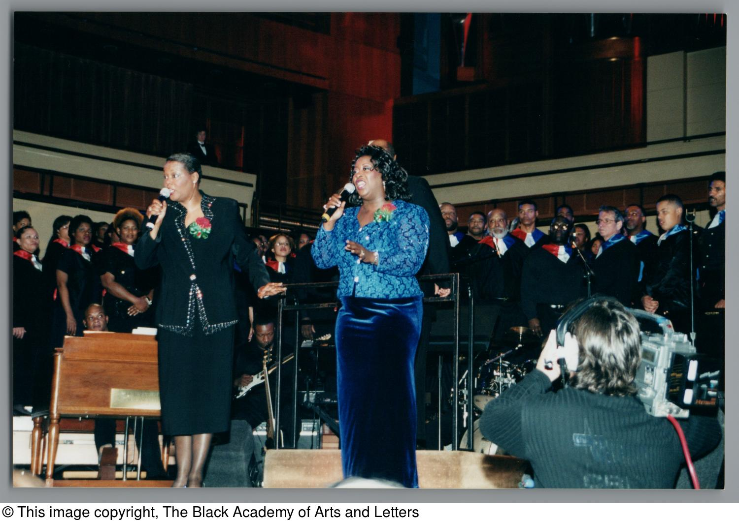 [Black Music and the Civil Rights Movement Concert Photograph UNTA_AR0797-145-06-41]                                                                                                      [Sequence #]: 1 of 2