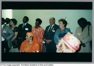 Primary view of object titled '[Ambassadors of Africa and the Caribbean Photograph UNTA_AR0797-141-09-12]'.