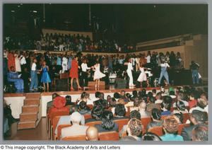 Primary view of object titled '[Black Music and the Civil Rights Movement Concert Photograph UNTA_AR0797-144-36-19]'.
