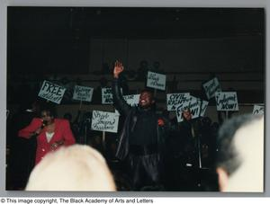 Primary view of object titled '[Black Music and the Civil Rights Movement Concert Photograph UNTA_AR0797-144-35-03]'.