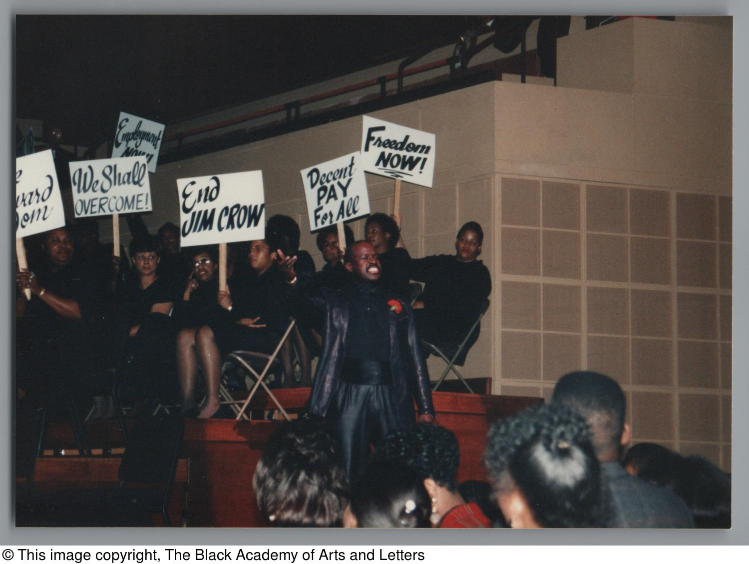 [Black Music and the Civil Rights Movement Concert Photograph UNTA_AR0797-144-35-35]                                                                                                      [Sequence #]: 1 of 2