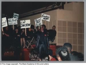 Primary view of object titled '[Black Music and the Civil Rights Movement Concert Photograph UNTA_AR0797-144-35-35]'.