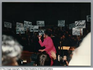 Primary view of object titled '[Black Music and the Civil Rights Movement Concert Photograph UNTA_AR0797-144-35-12]'.