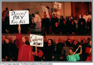 Primary view of object titled '[Black Music and the Civil Rights Movement Concert Photograph UNTA_AR0797-137-03-24]'.