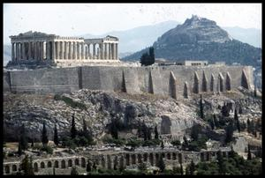 Primary view of object titled '[Distant View of Parthenon]'.
