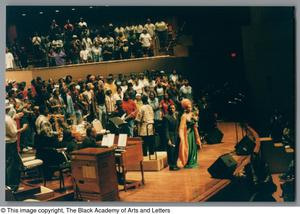 Primary view of object titled '[Black Music and the Civil Rights Movement Concert Photograph UNTA_AR0797-144-33-53]'.