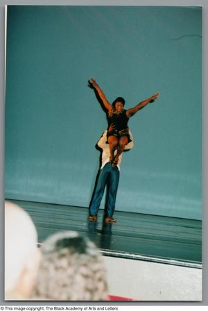 Primary view of object titled '[Weekend Festival of Black Dance Photograph UNTA_AR0797-139-14-12]'.