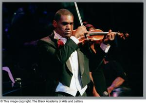 Primary view of object titled '[Black Music and the Civil Rights Movement Concert Photograph UNTA_AR0797-137-08-73]'.