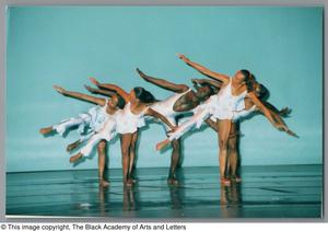 Primary view of object titled '[Dancers in white]'.