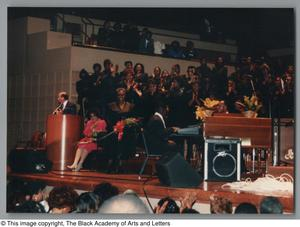 Primary view of object titled '[Black Music and the Civil Rights Movement Concert Photograph UNTA_AR0797-144-35-11]'.