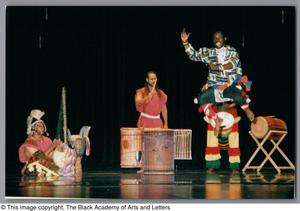 Primary view of object titled '[Weekend Festival of Black Dance Photograph UNTA_AR0797-139-14-25]'.