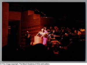 Primary view of object titled '[Black Music and the Civil Rights Movement Concert Photograph UNTA_AR0797-144-35-10]'.