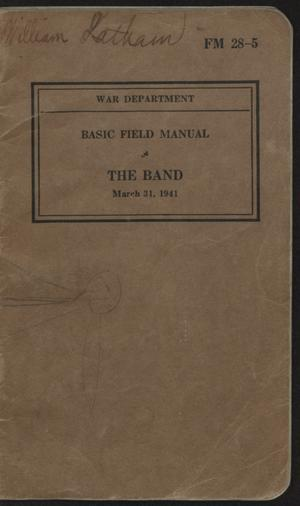 Primary view of object titled 'The band.'.