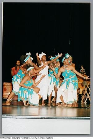 Primary view of object titled '[Weekend Festival of Black Dance Photograph UNTA_AR0797-139-14-29]'.