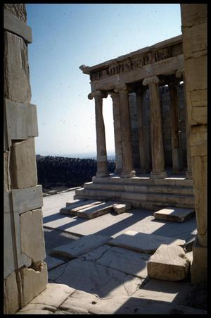 Primary view of object titled '[Temple of Athena Nike]'.
