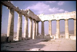 Primary view of object titled 'Parthenon'.