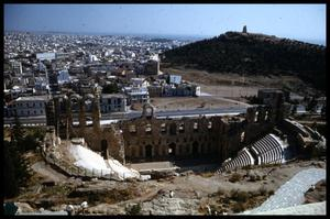 [Above View of the Odeion of Herodes Atticus]