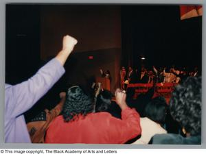 Primary view of object titled '[Black Music and the Civil Rights Movement Concert Photograph UNTA_AR0797-144-35-24]'.