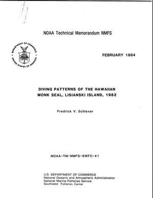 Diving Patterns of the Hawaiian Monk Seal, Lisianski Island, 1982