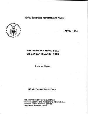 The Hawaiian Monk Seal on the Laysan Island: 1982