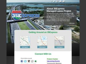 [Websites About the Expansion of I-35]