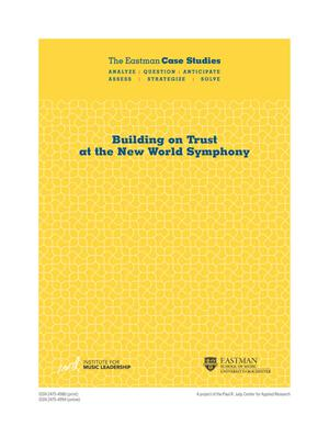 Building on Trust at the New World Symphony