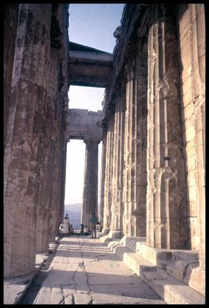 [View of Parthenon Colonnade]