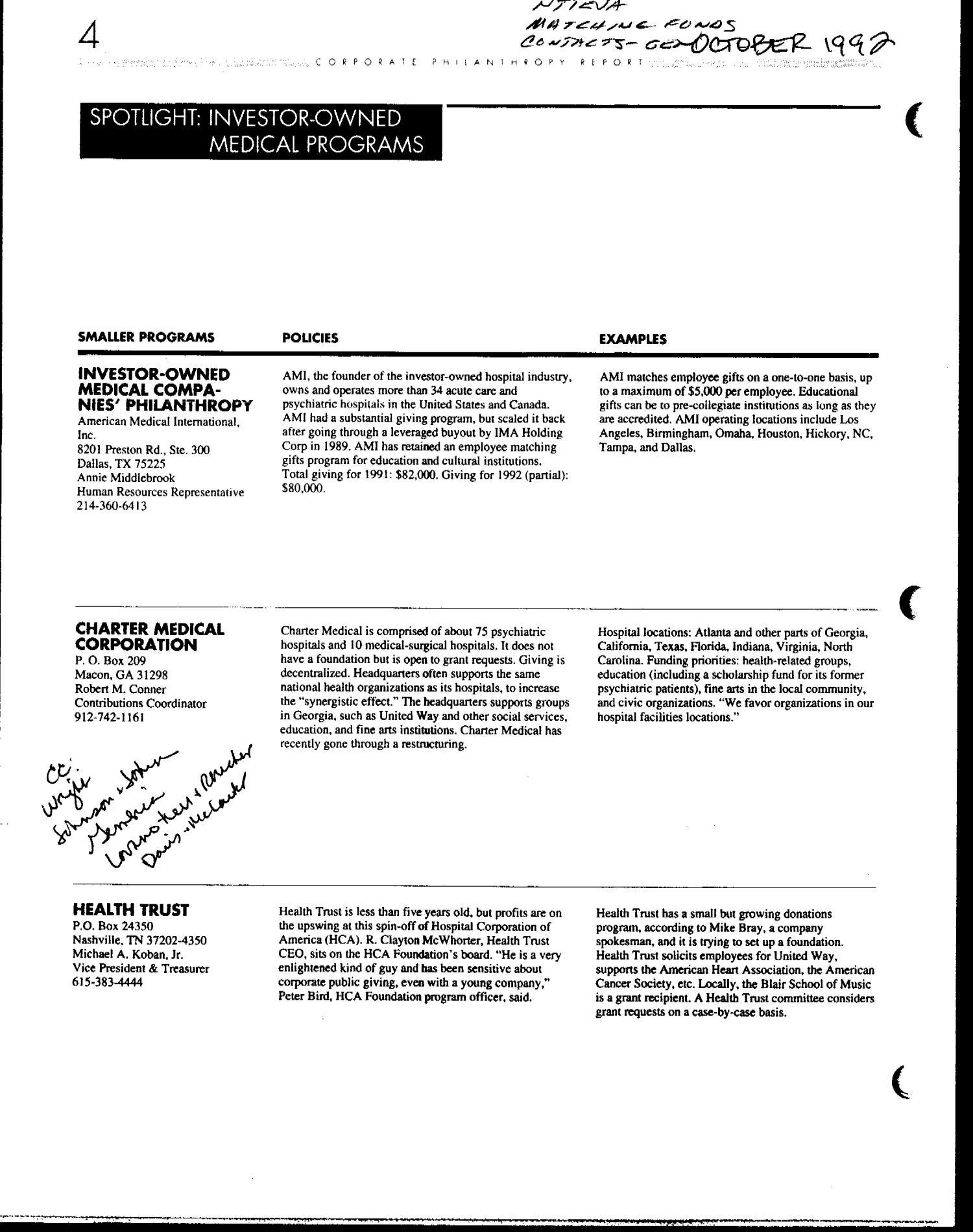 Corporate Philanthropy Report - Digital Library