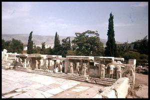 Primary view of object titled '[Theatre of Dionysus]'.
