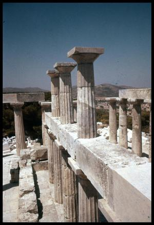 Primary view of object titled '[Temple of Aphaia]'.