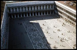 [View of Piazza San Marco from Campanile]