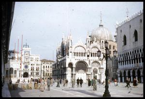 Primary view of object titled '[Piazzetta San Marco]'.