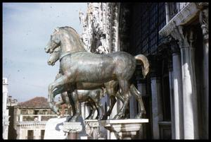 Primary view of object titled '[Bronze Horses]'.