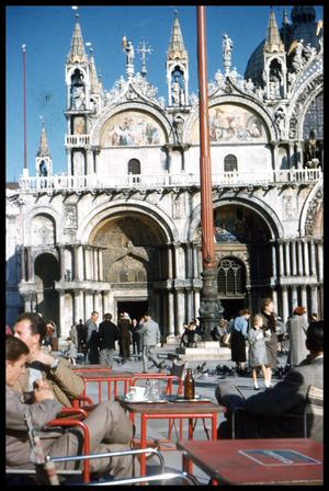 Primary view of object titled '[Piazza San Marco]'.