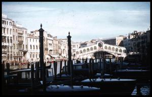 Primary view of object titled '[Rialto Bridge]'.