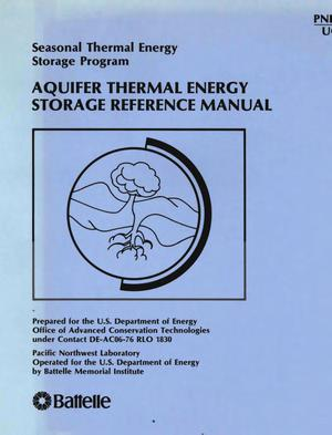 Primary view of object titled 'Aquifer thermal energy storage reference manual: seasonal thermal energy storage program'.