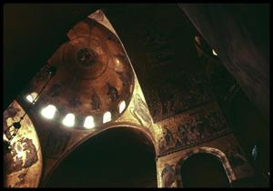 Primary view of object titled '[St. Mark's Basilica Interior]'.