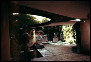 Primary view of object titled '[Sculpture Courtyard]'.