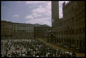 Primary view of object titled '[Piazza del Campo]'.