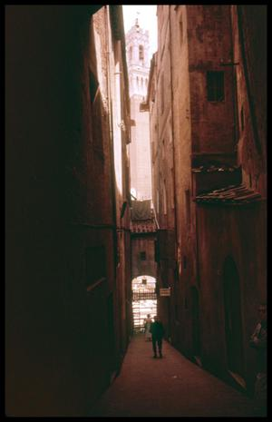 Primary view of object titled '[Narrow Street]'.
