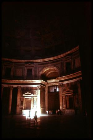 Primary view of object titled '[Pantheon Interior]'.
