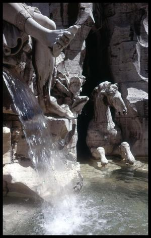 Primary view of object titled '[Fountain Detail]'.